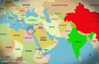 دلايل ناامني خاورميانه روي نقشه استاد رائفي پور