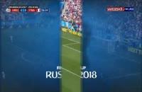 فیلم حمله سنجاقک به هوگو لوریس (دوازه بان فرانسه) در جام جهانی 2018