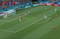صحنه گل اول سوئیس به کاستاریکا در جام جهانی 2018 ( بلریم ژمایلی )