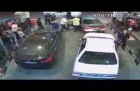 نحوه برخورد زشت پلیس راهور با راننده