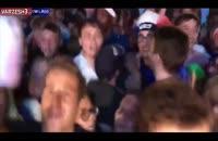 شادی مردم فرانسه پس از صعود به فینال جام جهانی روسیه 2018