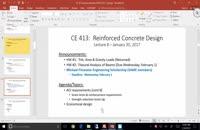 041041 - طراحی سازه بتنی سری دوم