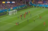 گل دوم بلژیک به ژاپن - مروان فلینی