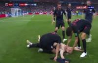 صحنه گل دوم کرواسی به روسیه در جام جهانی 2018