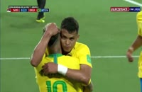 لحظه گل دوم برزیل به صربستان در جام جهانی 2018