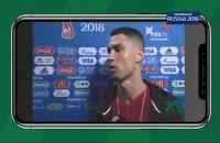 دابسمش رونالدو و مسی پس از حذف در جام جهانی روسیه 2018