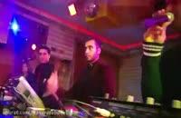 قسمتی از اجرای پرکاشن بهمراه DJ توسط حسن مهدوی