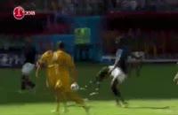 لحظه صعود فرانسه به نیمه نهایی جام جهانی 2018