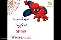 سم عنکبوت تضمینی، قوی و کشنده Spider Wondercide