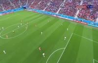 خلاصه بازی روسیه 3 - مصر 1 (جام جهانی روسیه)