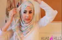 فوت وفن بستن شال و روسری باحجاب 02128423118-09130919448-wWw.118File.Com
