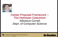 014085 - نحوه نوشتن پروپوزال پژوهشی: Heilmeier Catechism
