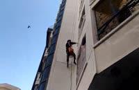 رنگ آمیزی نمای ساختمان-آذرخش ساختمان کهن