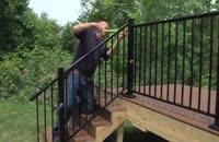 آموزش گام به گام نصب انواع نرده راه پله وحفاظ در118فایل