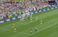 خلاصه بازی برزیل 2 - مکزیک 0 جام جهانی روسیه 2018
