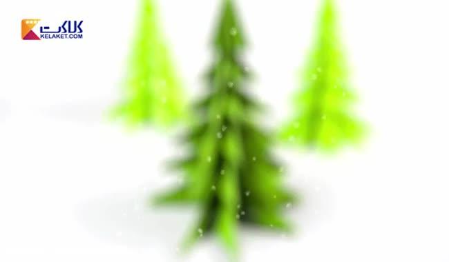 آموزش اوریگامی؛ درخت کریسمس