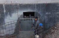 کرگیری از دیوار بتن مسلح (جلفا)