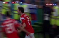 فیلم گل دوم روسیه به کرواسی در جام جهانی 2018