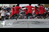 رقص بومی محلی آذربایجانی گروه آیلان - جشنواره آیینی سنتی - خلاصه اجراهای روز اول