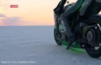 سریعترین موتورسیکلت جهان از شرکت کاوازاکی Kawasaki