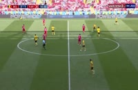 فیلم گل چهارم بلژیک به تونس در جام جهانی 2018