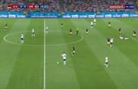 مسدومیت شدید سباستین رودی در بازی با سوئد در جام جهانی 2018