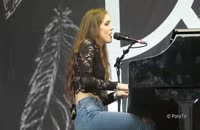 Birdy - White Winter Hymnal - Live in Schaffhausen