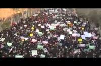 راهپیمایی مردم کاشان