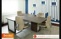 میز مدیریت و میز کنفرانس ام دی اف بنکو