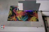 دستگاه چاپ روی فلز - فلت بد UV