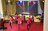 جشن سالن وزارت خارجه با رقص آذربایجانی آیلان