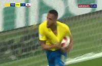 گل اول برزیل به بلژیک در جام جهانی 2018