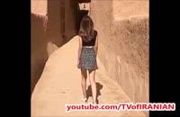 چالش دامن کوتاه در عربستان توسط زن جوان!