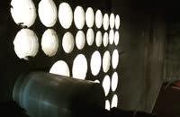 کرگیری از دیوار بتنی به ضخامت ۴۰ سانتیمتر