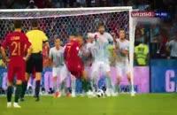 پیش بازی برای بازی اروگوئه پرتغال
