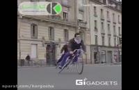 با این دوچرخه در پیچ ها به راحتی دور بزنید