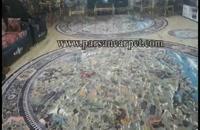 فرش گرد سایز بزرگ قطر 4