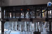 دستگاه پرکن منوبلوک بطری های PET مایعات رقیق آشامیدنی نظیر آب معدنی ٬ عرقیات و ...