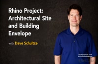 آموزش طراحی سایت پلان در Rhino