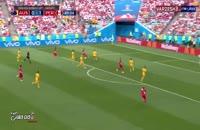 تمام گل های روز سیزدهم جام جهانی 2018