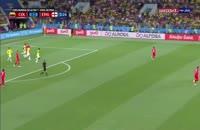 خلاصه بازی کلمبیا 1 - انگلیس 1 - به همراه صحنه پنالتی
