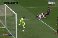 خلاصه بازی بارسلونا 8 - اوئسکا 2