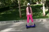 آموزش سوار شدن اسکوتر برقی