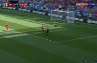 خلاصه بازی بلژیک 5 - تونس 2  در جام جهانی 2018