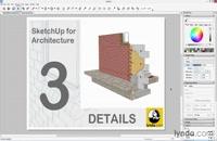 آموزش ترسیم جزئیات معماری در SketchUp