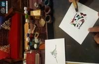 دست نویس اسم آندیا ، خوشنویسی اسامی ، خط و هنر ، مربع مربع