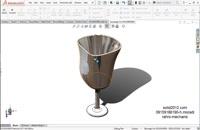 اموزش نرم افزار سالیدورک- solidworks-پیشرفته-فیلم طراحی لیوان