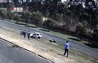 «دور زدن ممنوع» به قیمت جان یک موتورسوار تمام شد!