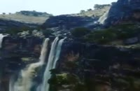 آبشار فصل منطقه چاوونی اندیمشک