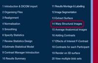 SPM Tutorial 14 - Warp Structural Images